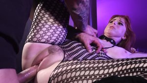 Penny Pax in bodystocking anal sex