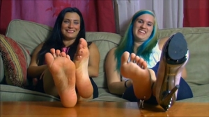 Shrunken And Enslaved By Two Giantess