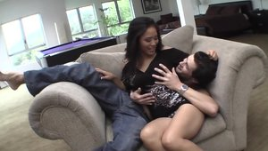 Ramming hard along with stiff asian stepmom Jessica Bangkok