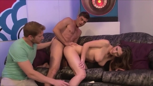 Cuckold sex scene along with large tits rough Molly Jane