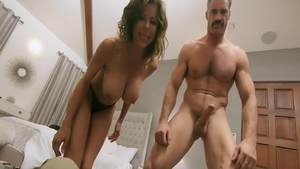 Stepmom Alexis Fawx wishes for real sex