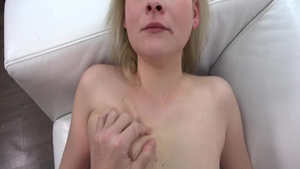 Young & bubble butt amateur POV pussy fucking at the casting