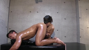 Japanese lusts oily squirting in HD