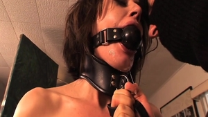 Gonzo BDSM together with small boobs Sarah Shevon