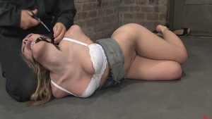 Annette Schwarz gets a buzz out of tied up