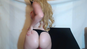 European fun with toys on webcam in HD