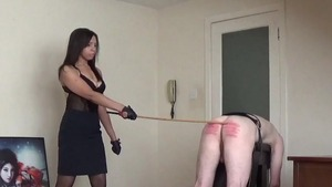 Nailed rough in company with dominatrix