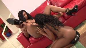 Inked ebony pornstar has a passion for rough nailing in HD