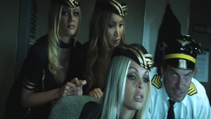 Orgy with hottest Jenna Haze in company with Riley Steele