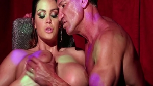 Rough sex accompanied by tall babe Alison Tyler
