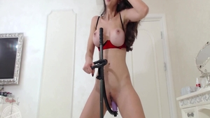 Raw fucking escorted by busty babe