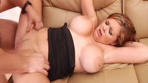 Big boobs Katie Morgan and Katie Kox cumshot