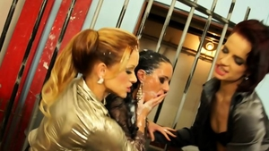 Slamming hard with Stacy Silver among Gina Devine