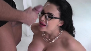 Hardcore nailing accompanied by big ass pornstar