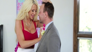 Big boobs blonde Courtney Taylor anal