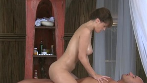 European friend Rita Peach romantic foreplay
