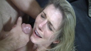 Busty Cory Chase craving receiving facial