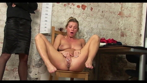 Sexy hungarian secretary Rita Rush wishes for humiliation HD