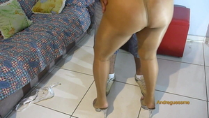 Good fucking along with amateur wearing pantyhose in HD
