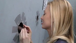 that babe Needed Her Glory hole Fix