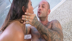 May Thai with Mike Angelo raw dick sucking