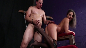 BDSM with dirty slut Abella Danger