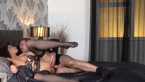 Sex together with brunette Tina Kay escorted by Ryan Ryder