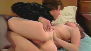 Plowing hard with Herschel Savage accompanied by Kay Parker