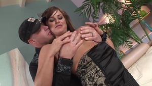 The best sex in the company of busty MILF