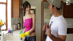 Mexican Diana Prince is a big tits mature