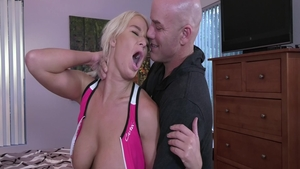 Good fucking together with large tits MILF London RIver