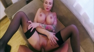 The best sex along with very hawt blonde Kayla Green