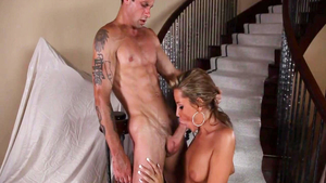 Young pornstar Tanner Mayes raw ass fucked sucking cock