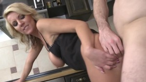 Hardcore sex escorted by beautiful blonde
