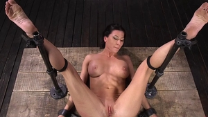 Amazing Ariel X fetish ass fucking at the party