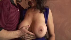Real sex escorted by trimmed persian mature Persia Monir