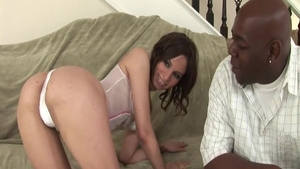 Petite latina MILF Amber Rayne has a passion for real sex