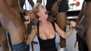 Wild american herie Deville feels in need of crazy gangbang