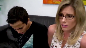 American blonde haired Cory Chase softcore doggy style