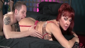 Hardcore sex escorted by large tits MILF Sexy Vanessa