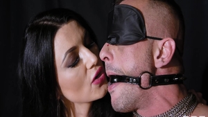 Bondage together with hot Ania Kinski and Dorian Del Isla