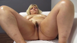 Big boobs MILF dick sucking at the castings HD