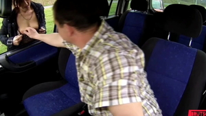 Creampie in a taxi