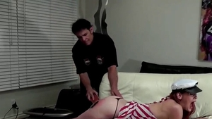 Humiliation together with perfect redhead