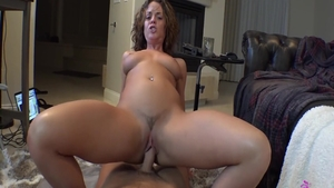 Nailed rough together with sexy babe Rahyndee James