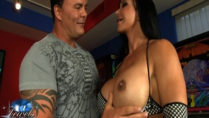 Rough good fuck with super sexy american babe Jewels Jade