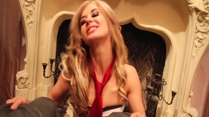 Nailed rough in the company of young slut Chloe Chaos