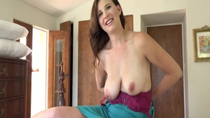 Big tits MILF Alice Chambers wishes for good fucking