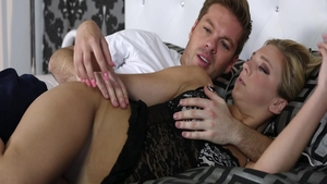 Ramming hard among big boobs slut Tiffany Watson