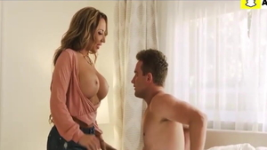Large tits Elle Ryan together with Richelle Ryan blowjobs